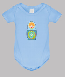 le corps bleu baby doll