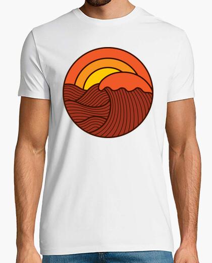 Tee-shirt le coucher du soleil