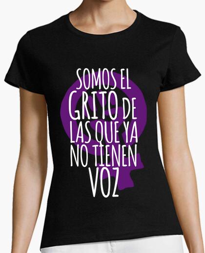 Tee-shirt le cri de les qui n'ont plus de voix