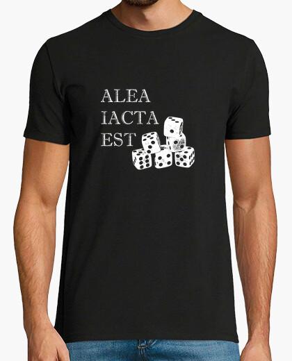 Tee-shirt le dé est lancé - alea iacta est - jeu