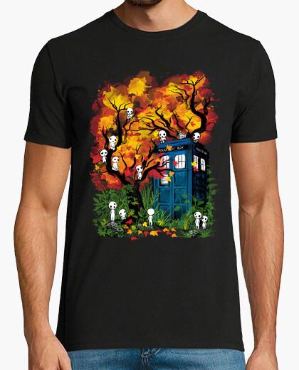 Tee-shirt Le docteur dans la forêt