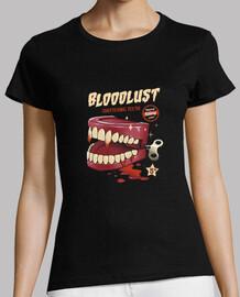 le donne della camicia dei denti assassino di wind-up