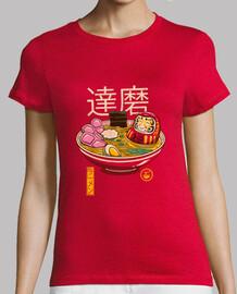 le donne della camicia di zen ramen