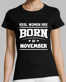 le donne reali sono nate nel mese di novembre