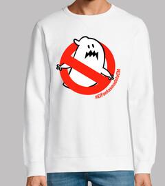 le fantôme d'em sweatshirt unisexe