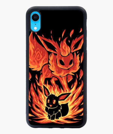 Coque iPhone XR le feu eeveelution à l'intérieur - étui iphone