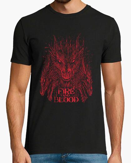 Tee-shirt Le feu et le sang