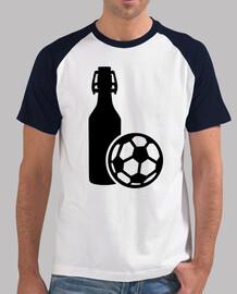 le football et la bière