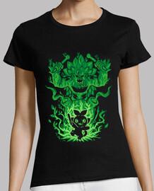 le gorille de l'herbe à l'intérieur - chemise femme