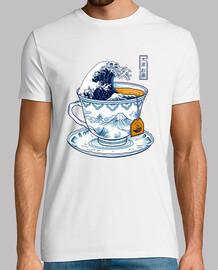 le grand kanagawa tee shirt homme