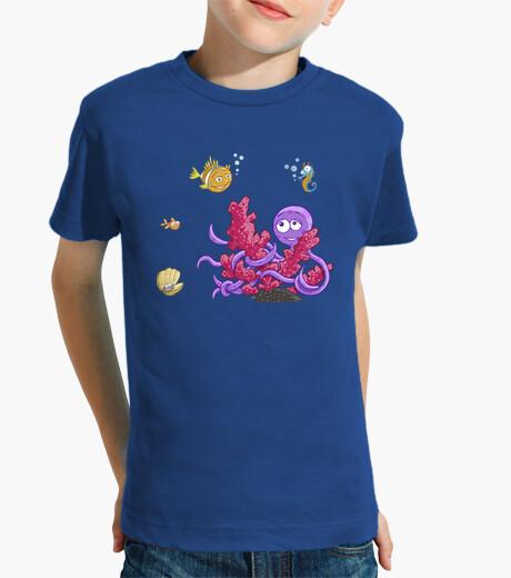 Vêtements enfant le grand octopus du mess