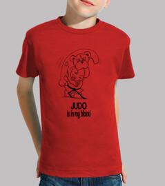 le judo est dans mon sang