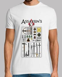 Le kit de l'assassin - blanc -