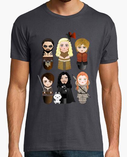 T-shirt le kokeshi il trono di spade
