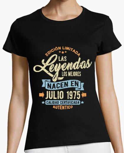 T-shirt le l eye NDAS n ace n in Luglio 1975