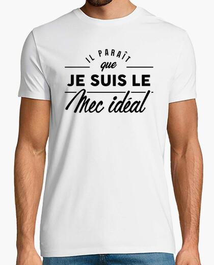 Tee-shirt Le mec idéal