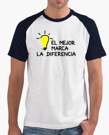 Tee-shirt le meilleur fait la différence