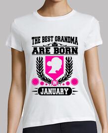 le migliori nonne sono nate a gennaio