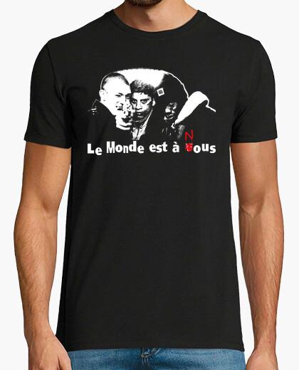 T-shirt le monde est à nous