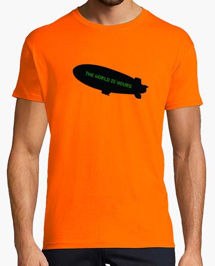 Tee-shirt le monde est à vous