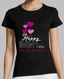 le noir de mères heureux