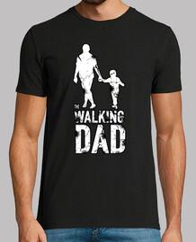 le papa qui marche