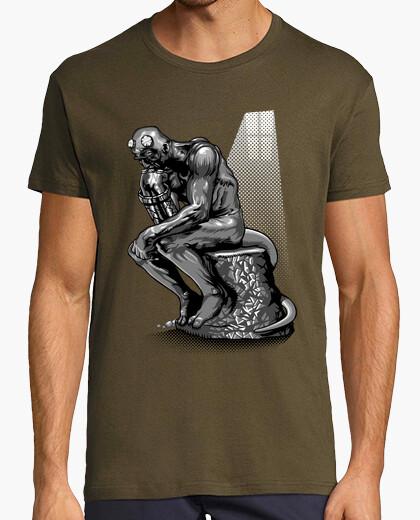 Tee-shirt Le penseur d'enfer