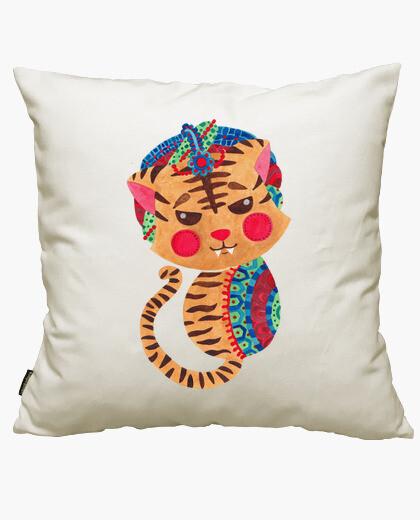 Housse de coussin le petit tigre du Bengale