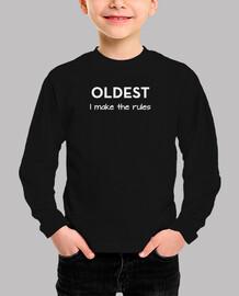 le plus ancien - je fais les règles