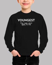le plus jeune - les règles ne s39appliq