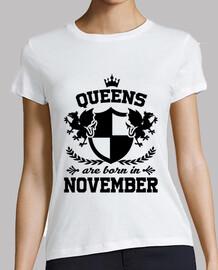 le regine sono nate nel mese di novembre