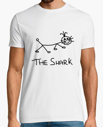 Tee-shirt le requin noir