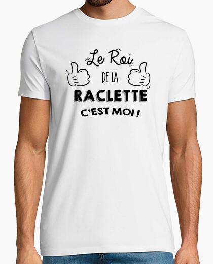 Tee-shirt Le roi de la raclette