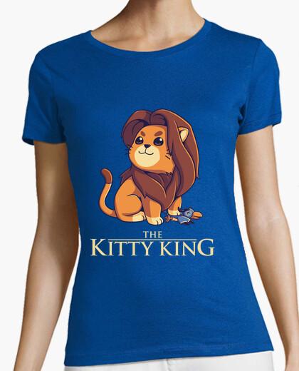 Tee-shirt le roi kitty - sombre voir