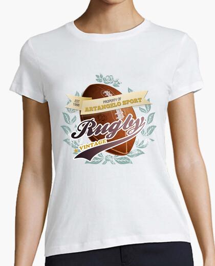Tee-shirt le rugby cru