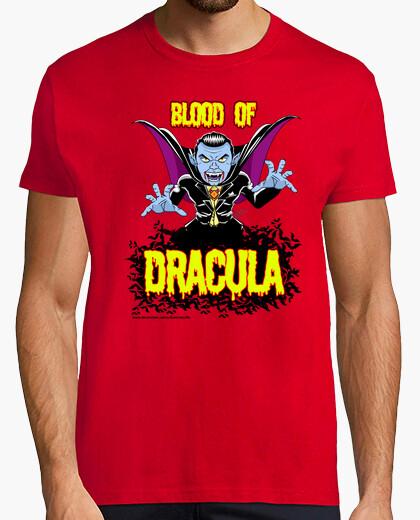 Tee-shirt le sang de dracula - homme à manches courtes