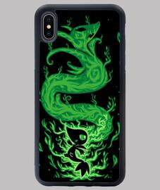 le serpent d'herbe dans - coque iphone xs max