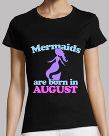le sirene nascono nell'agosto