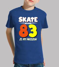 le skateboard est ma passion