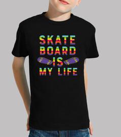le skateboard est ma vie