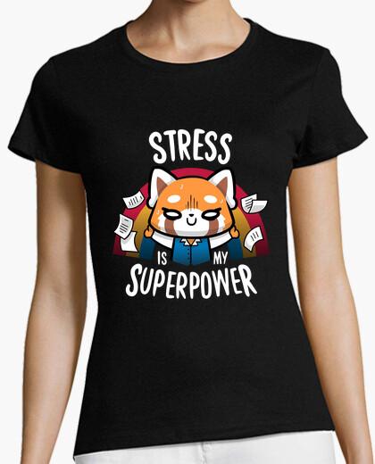 Tee-shirt le stress est ma superpuissance