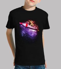 le surf sur une fusée
