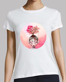 le t-shirt de printemps écarlate