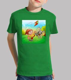 Le tee-shirt pour les petits de la famille, 100 %coton