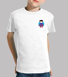 Le tee-shirt pour les petits de la famille, 100 %coton, coutures renforcées au cou