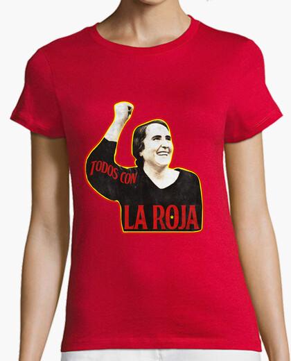 Tee-shirt le tout avec la roja