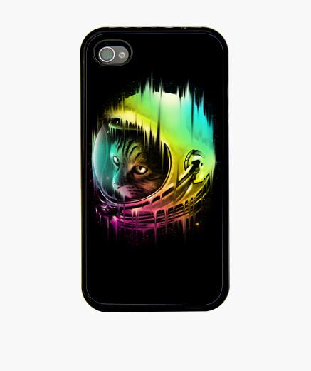 Coque iPhone le voyageur intergalactique