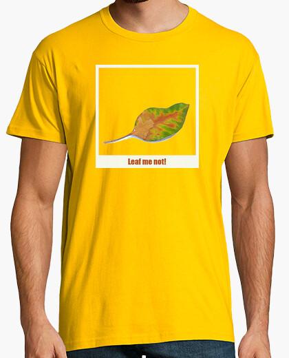 Camiseta Leaf me not!
