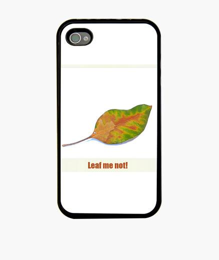 Funda iPhone Leaf me not!