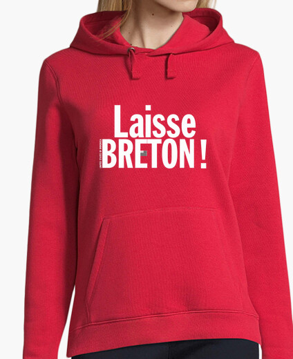 Leaves breton! - sweatshirt woman hoody